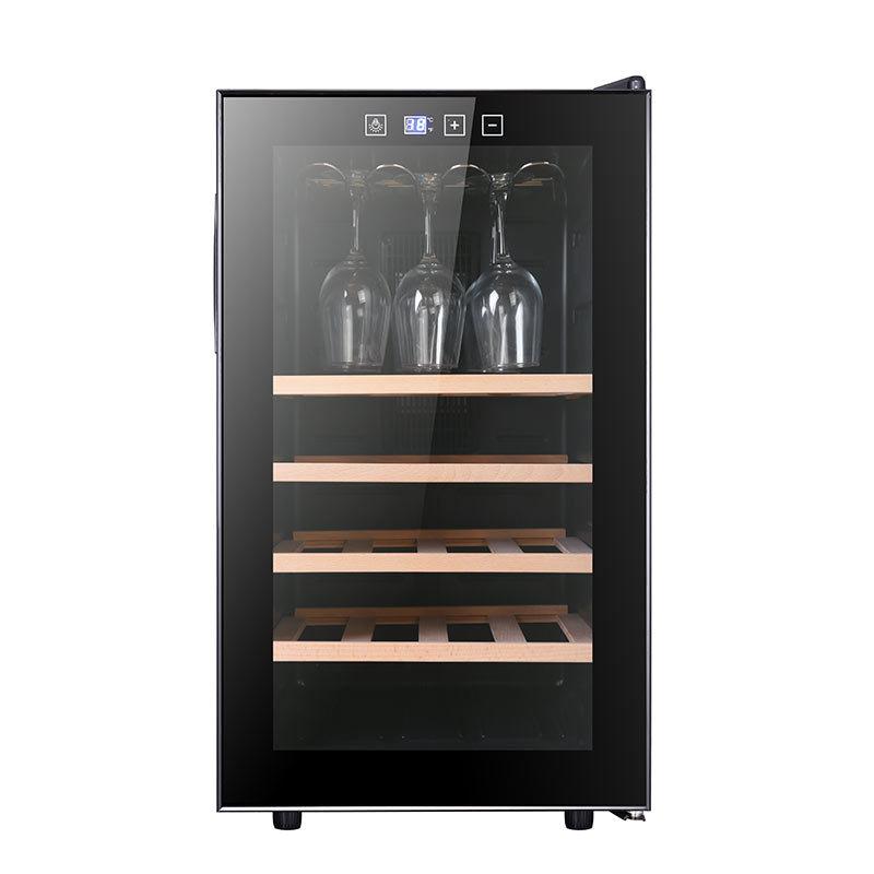 LAMONDU Constant temperature red wine cabinet ice bar household single door refrigerator small wine