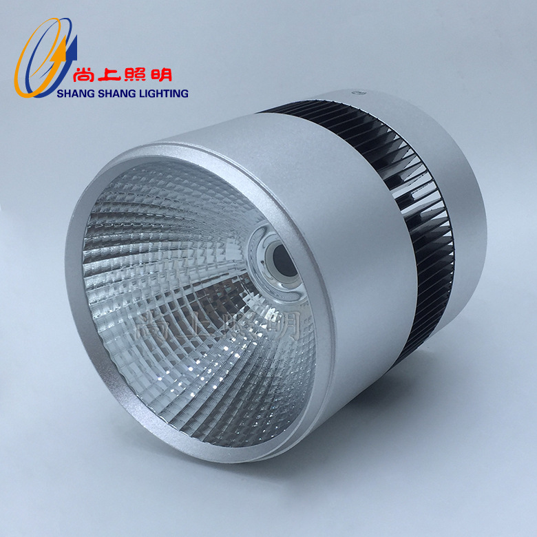 New COB surface mounted downlight housing 10W 20W 30W car aluminum surface mounted downlight housing