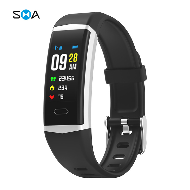 B5 GPS color screen outdoor sports Bracelet Heart Rate and blood pressure monitoring depth waterproo