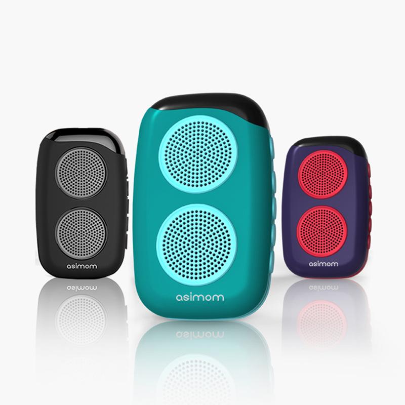 Loa Bluetooth Loa đài FM loa thẻ tiếng Trung và tiếng Anh