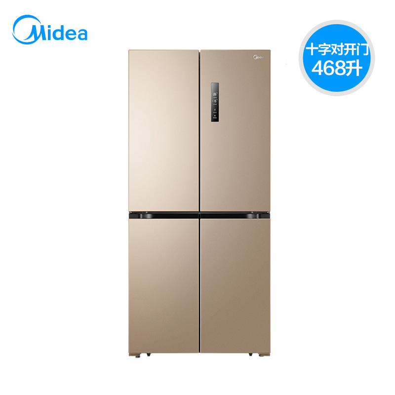 Midea/ Midea BCD-468WTPM(E) cross-to-open four-door refrigerator household inverter air-cooled non-f