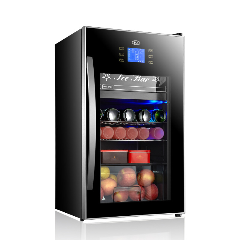 TCK brand jc95d household single door living room ice bar office refrigerator red wine compression m