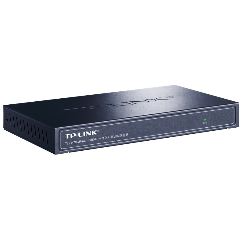 TP-LINK tl-r479gp-ac all Gigabit wired router 8-port Poe power supply AP management ac integrated
