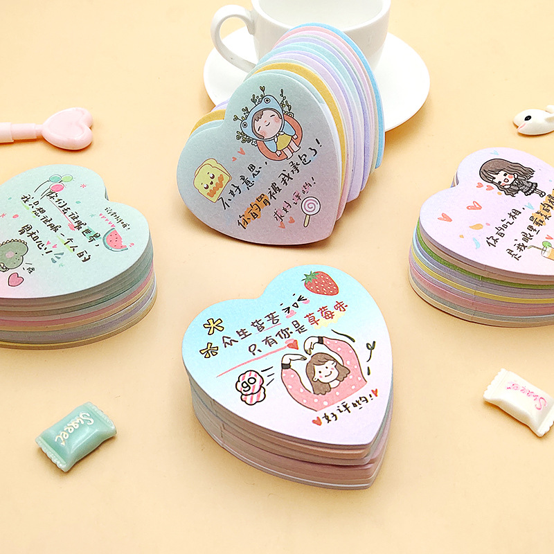 YUEHENG Take out hand painted creative graduals aestheticism note paste spot