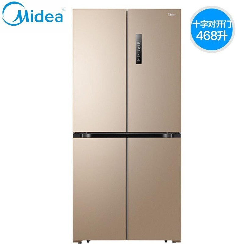 Midea four door refrigerator double frequency conversion double system refrigeration energy saving s