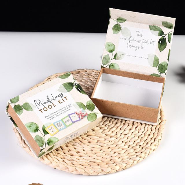 HANQI Gift box custom high-end cosmetic packaging box creative packaging color box clamshell gift bo