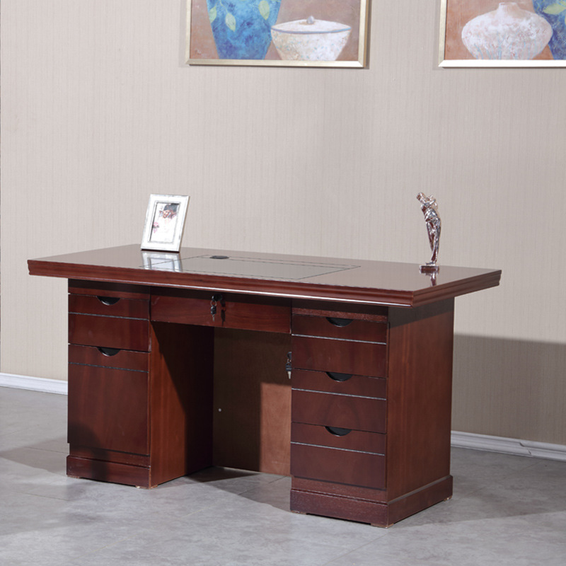 YOUBOLAI Office furniture single paint computer desk staff office desk and chair combination supervi