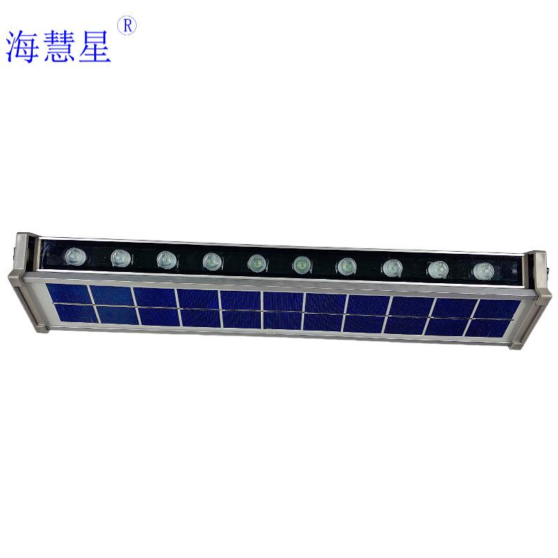 HAIHUIXING New solar wall washer lamp line lamp wall lamp bridge lighting lamp billboard spotlight