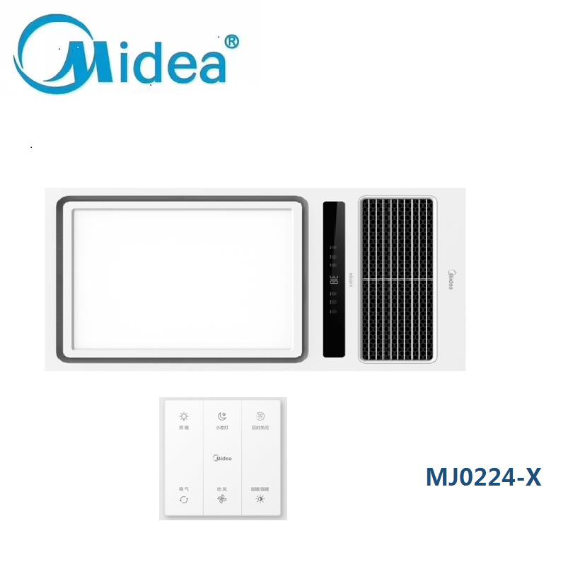 Midea Midea Yuba MJ0224-X Midea Heated Yuba MJ0324-X M0624-J MY2020-S26