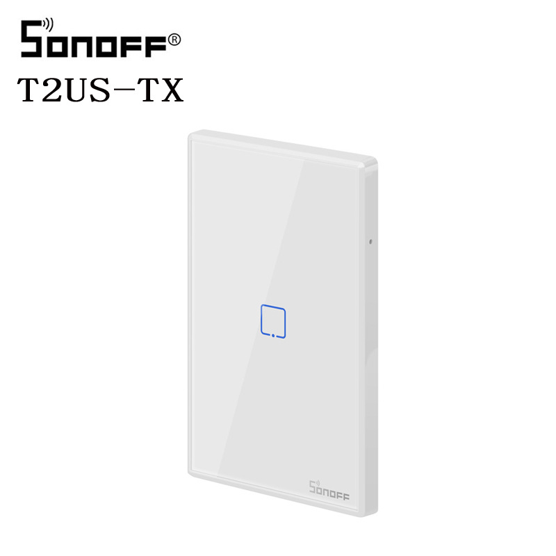 Sonoff TX T2 us wall touch panel intelligent WiFi remote control switch US standard