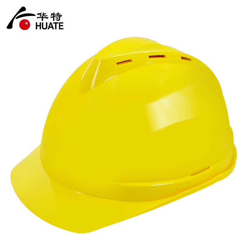 Huate 1302 helmet construction site anti-collision helmet national standard ABS helmet high temperat