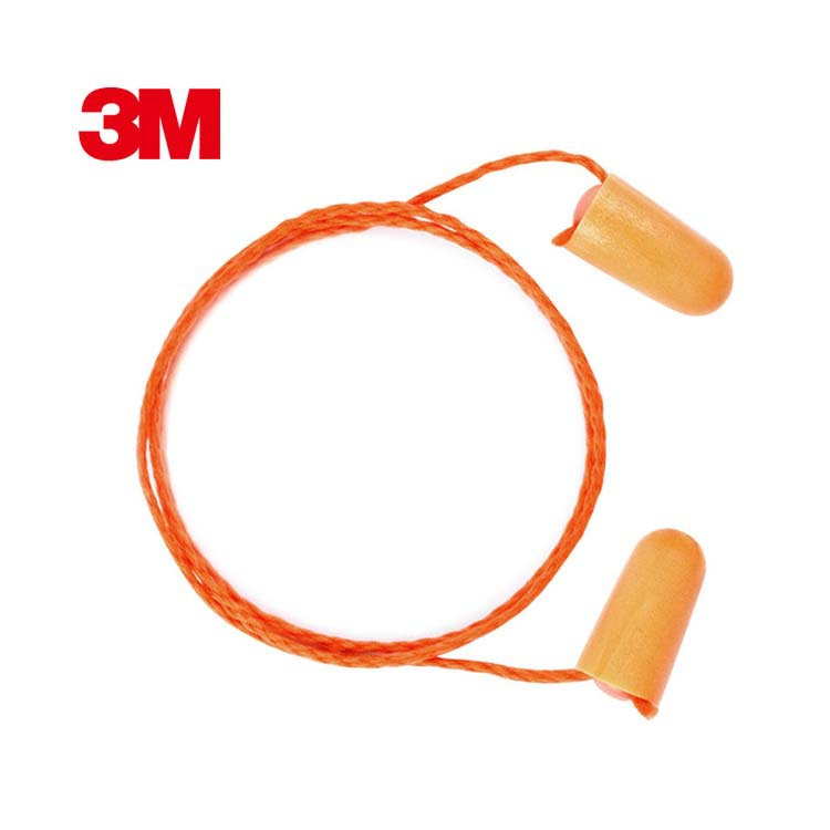 3M 1110 soundproof earplugs with line sleep sleeping anti-noise noise reduction aviation aircraft fo