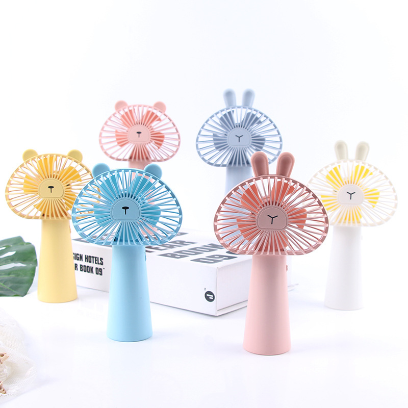 Summer USB mini fan small student handheld portable charging mini fan dormitory office desktop