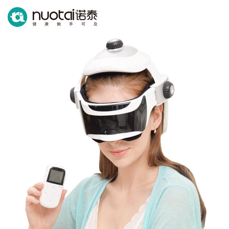 Nuotai head massager head eye integrated massager brain massager electric Scalp Massager gift