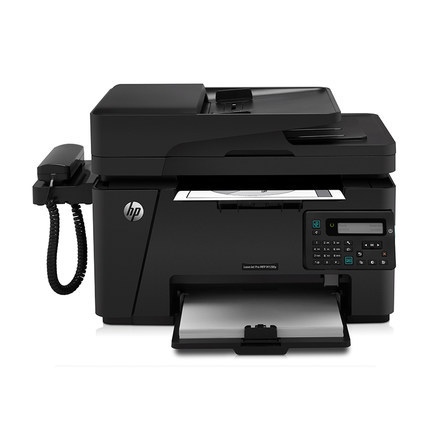 HP m128fp black and white laser multifunction printing copy scanning fax all-in-one business office