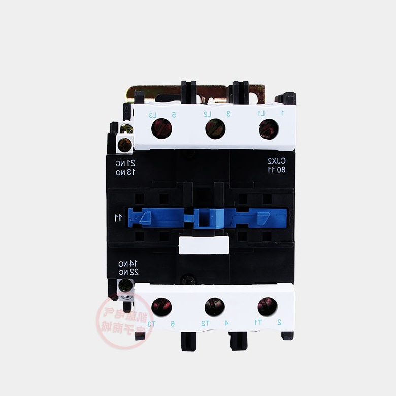Shanghai People's AC Contactor CJX2-8011 380V 220V 80A guaranteed silver point