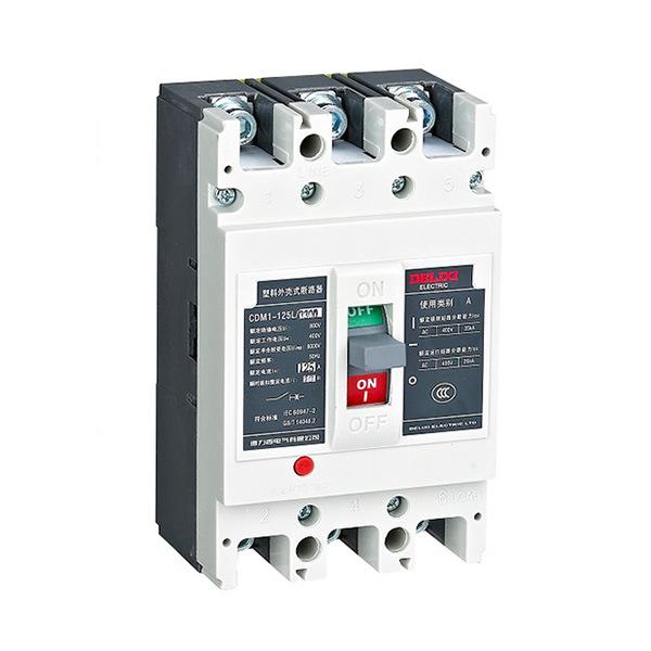 DELIXI CDM1 series thermal magnetic plastic case circuit breaker DELIXI/ Delixi CDM1-63M/3200
