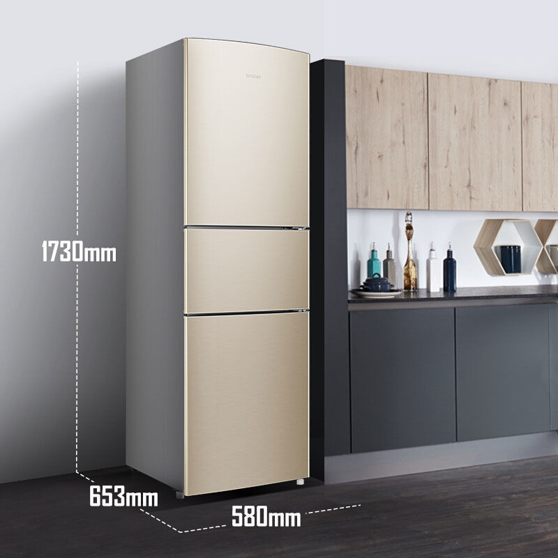Brand energy saving refrigerator bcd-252wd11npa variable frequency air cooled frost free household t