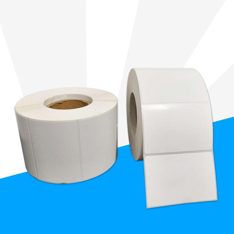 FUZHOU Self adhesive bar code paper label printer paper express logistics label copperplate paper wi