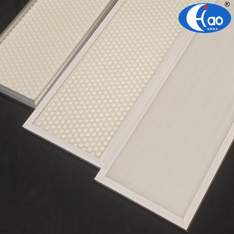 Embedded anti-glare LED classroom light UGR<16 honeycomb panel light no blue light hazard eye protec