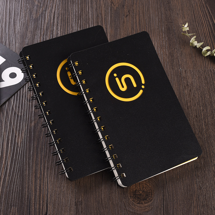 Business PP coil customized learning office supplies Notepad meeting minutes loose leaf notebook
