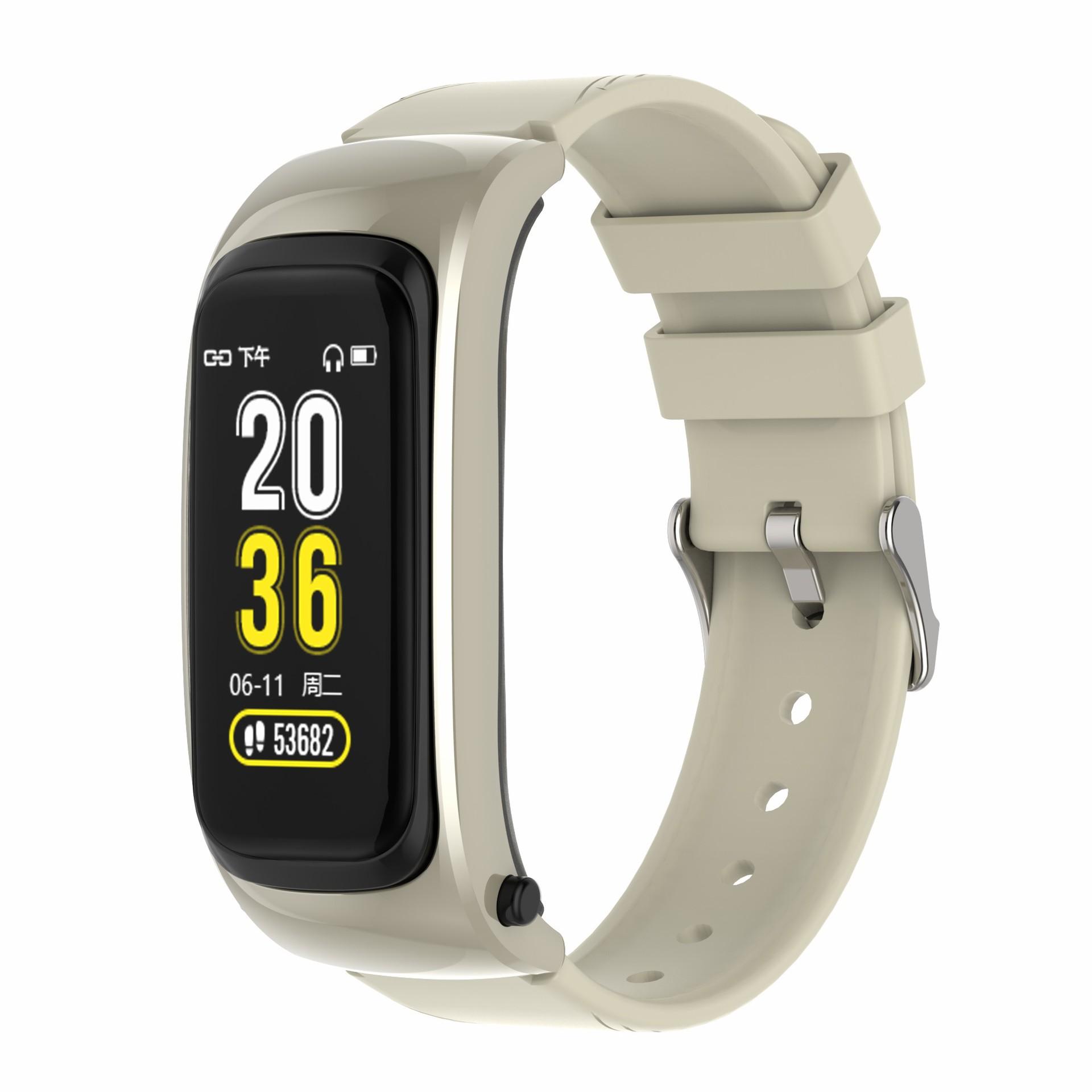BEITEJIA Y8 smart phone Bracelet caller ID measurement heart rate meter step sleep monitoring 1.08 s
