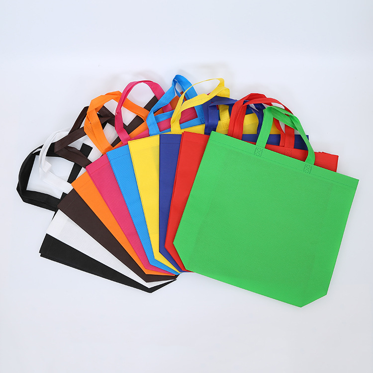 Three-dimensional bag horizontal non-woven bag shopping eco-friendly handbag