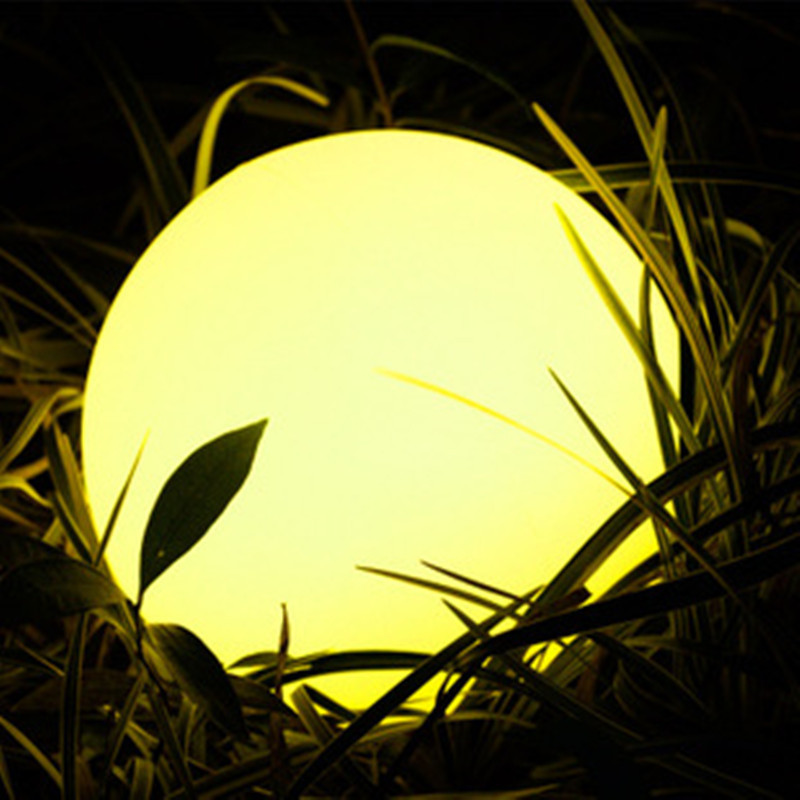 Solar Lawn Ball Light Outdoor Lawn Light Luminous Ball Light Garden Landscape Light Ball Light 50cm