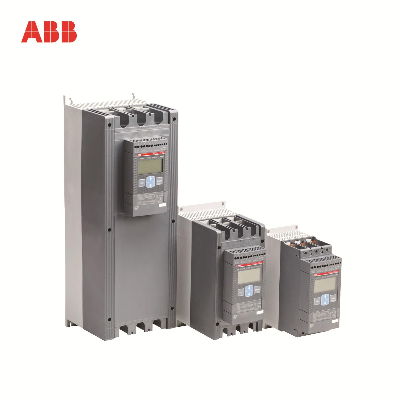 ABB easy-to-use soft starter PSE170-600-70