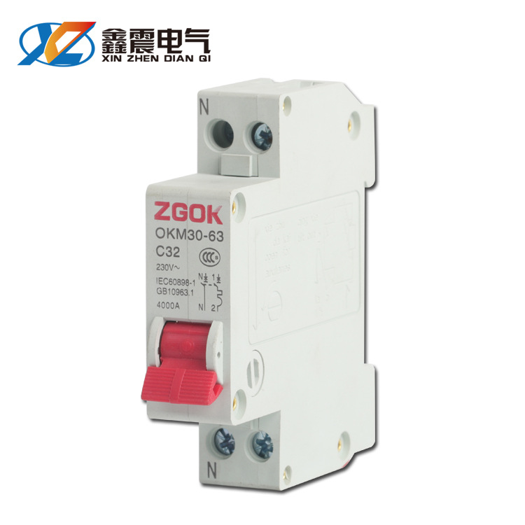 CHKL DZ30-32 air switch low voltage air switch single-phase household miniature circuit breaker