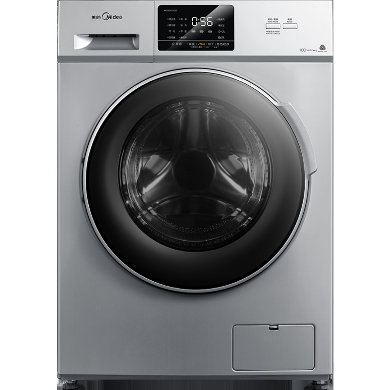 Midea (Midea) drum washing machine 10 kg kg washing and drying integrated machine inverter MD100VT13