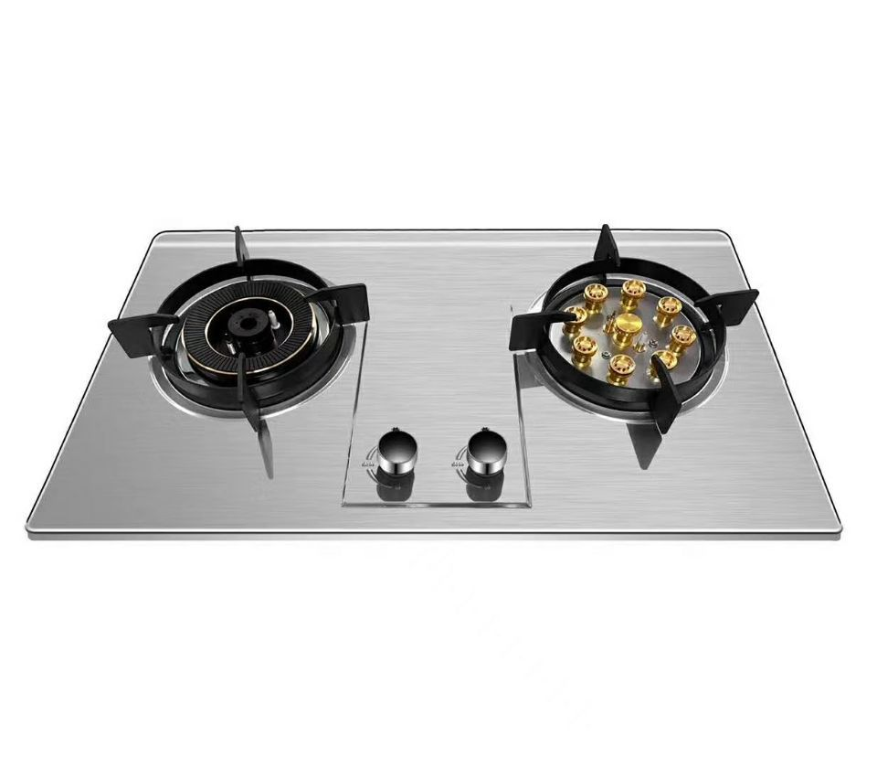 Gas Stove Household Fierce Stove Embedded Natural Gas LPG Gas Stove Double Stove