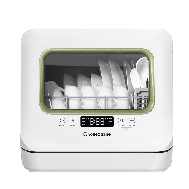 Intelligent automatic desktop dishwasher