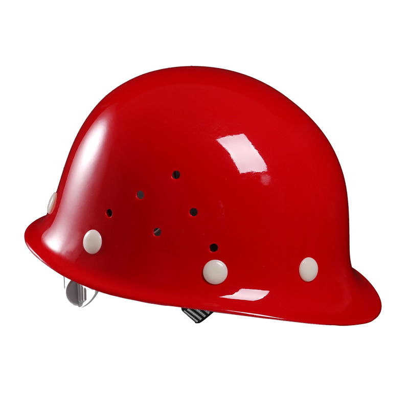 Hengshui Kaiyuan FRP helmet, labor protection, anti-smashing, breathable thickened construction site