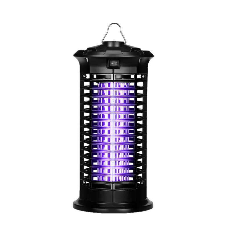 ABS electric shock type DC UV ultraviolet household 4W indoor mosquito killing lamp mosquito catcher