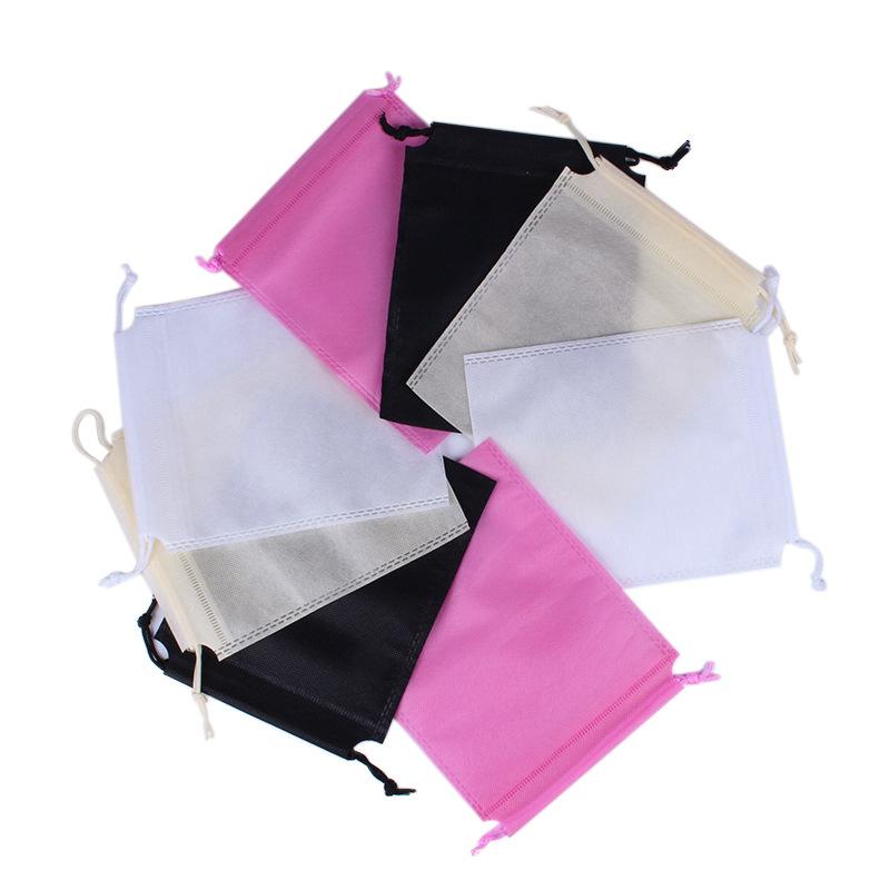 Non-woven drawstring bag, shoes and clothing dustproof storage packaging bag, drawstring non-woven b