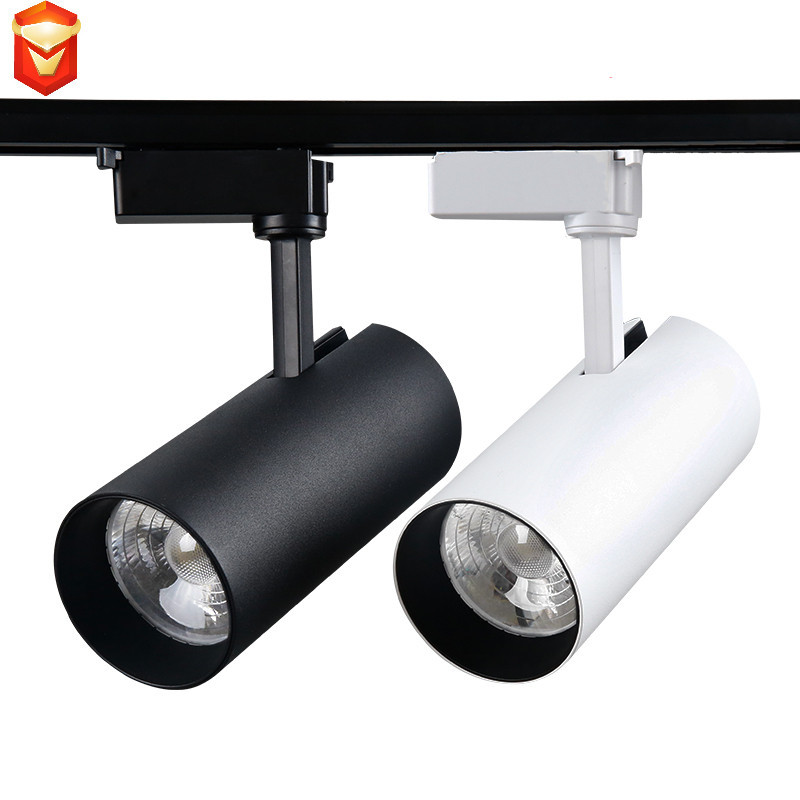 Spotlight led track spotlight cob ceiling mounted clothing background wall commercial shop showroom