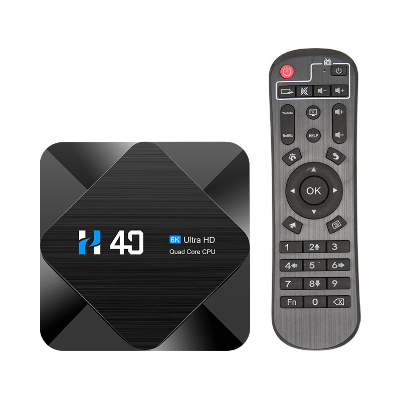 Network set top box H40 h616 Android 10 6K HD network player TV box