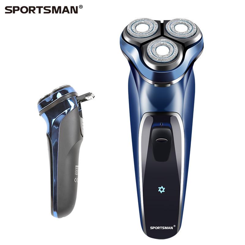 SONAX PRO Men's electric razor whole body wash razor type-C wire charging USB three blade beard kni