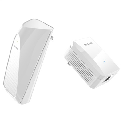 TP-LINK Pulian tl-pa201 & tl-pa201w power line Wi Fi expansion package
