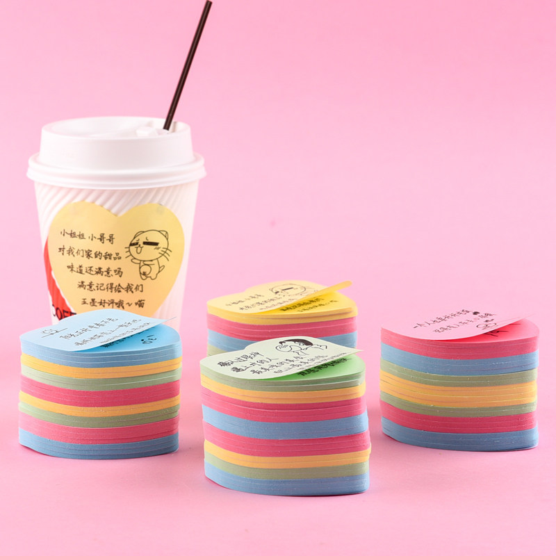 SHENSHI 250 thickened takeout post it notes with words note paper handwritten message note