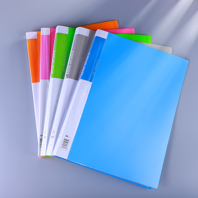 Student art works collection album A3 loose leaf color insert folder