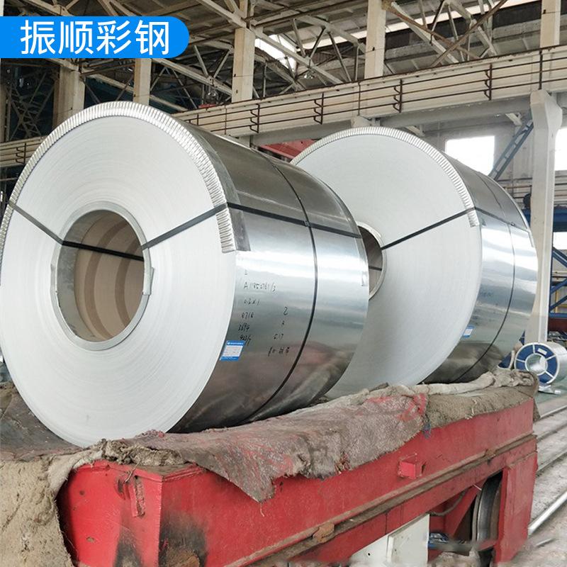 High-zinc layer galvanized coils Unflowered coated steel layer galvanized coils Kaiping construction