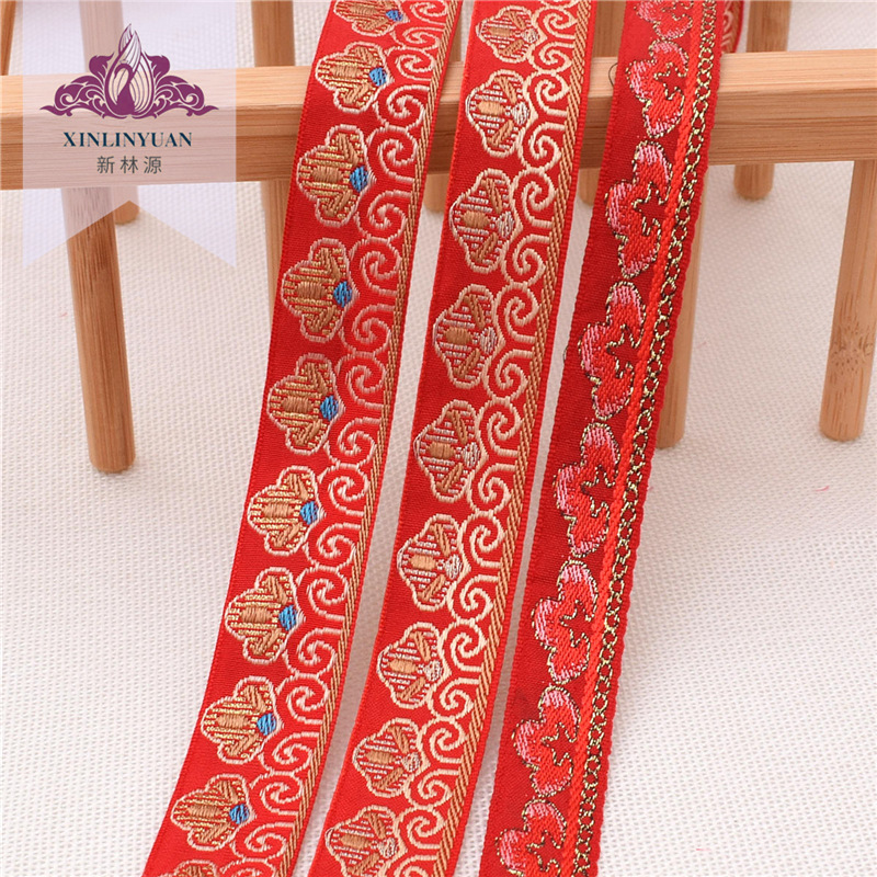 Special webbing lace for wedding kit, ethnic lace webbing, home textile clothing curtain accessories