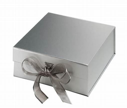 Ribbon Flip Box Magnet Ribbon Packaging Box Bow Gift Box