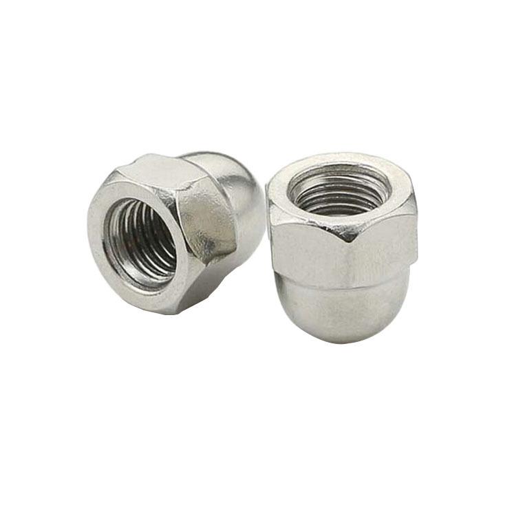 Cap Nut Stainless Steel Round Head Ball Head Cap Shape Decorative Cap Screw Cap Nut M4M5M6M8M20