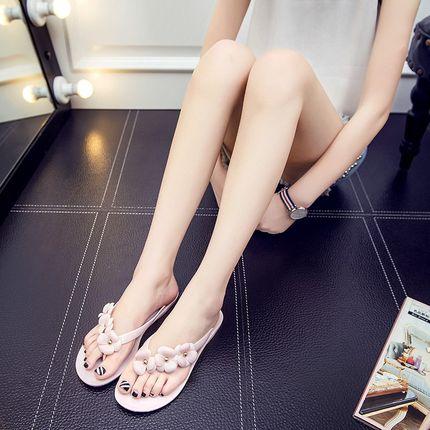 Giày GuangDong Dép đi trong nhà Tất cả trong một Dép xỏ ngón Quảng Đông nữ lưới người nổi tiếng mềm