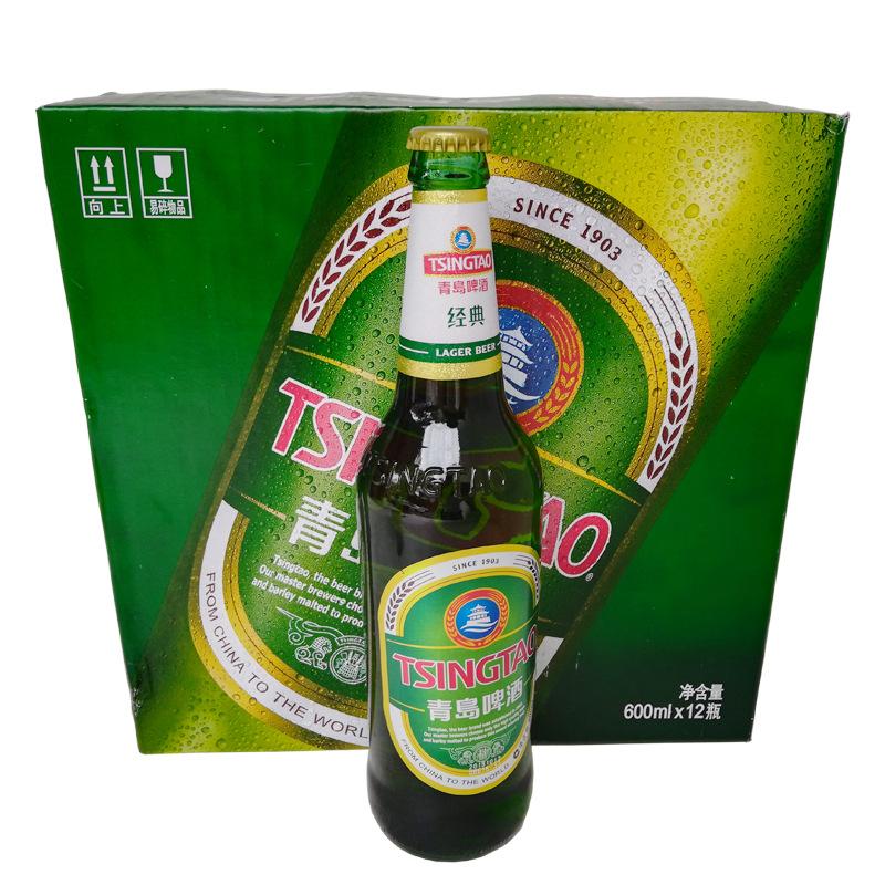 600mlx12 Old Tsingtao Beer