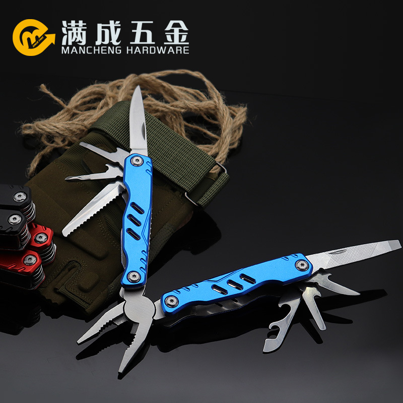 Outdoor multi-function pliers Camping multi-purpose folding knife Folding pliers EDC portable combin