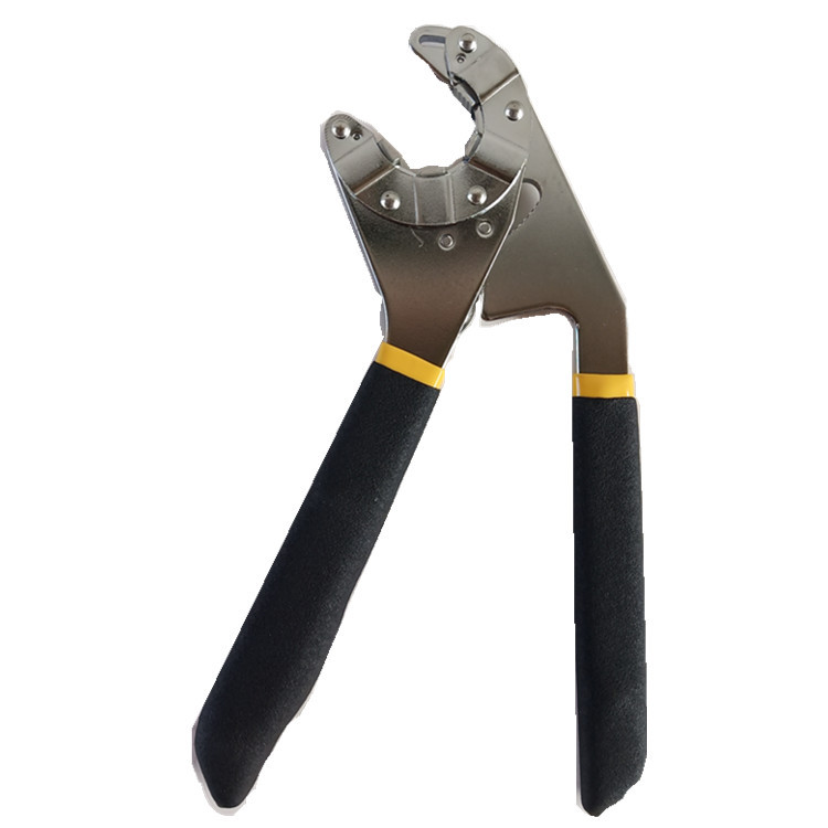 YILI 8-inch opening magic manual adjustable wrench can hold the external hexagonal hardware tools
